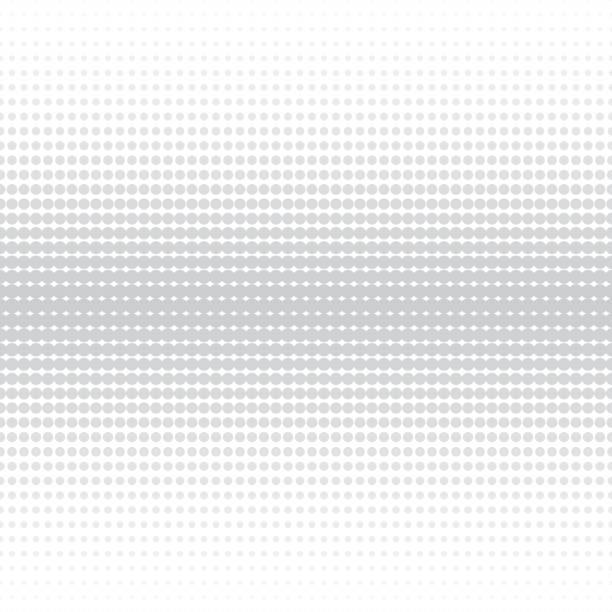 Vektor Halbton Hintergrund - nahtlose punktiert. – Vektorgrafik