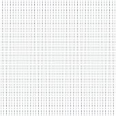 Vector halftone dotted background. Grey and white texture.