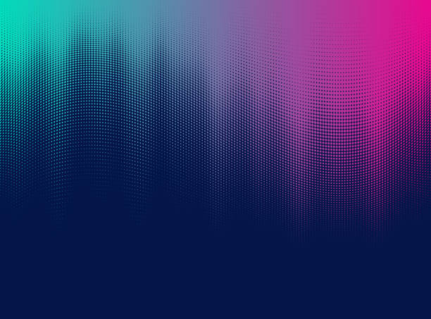 Vector Halftone Gradient vector art illustration