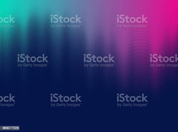 Vector Halftone Gradient Stock Illustration - Download Image Now