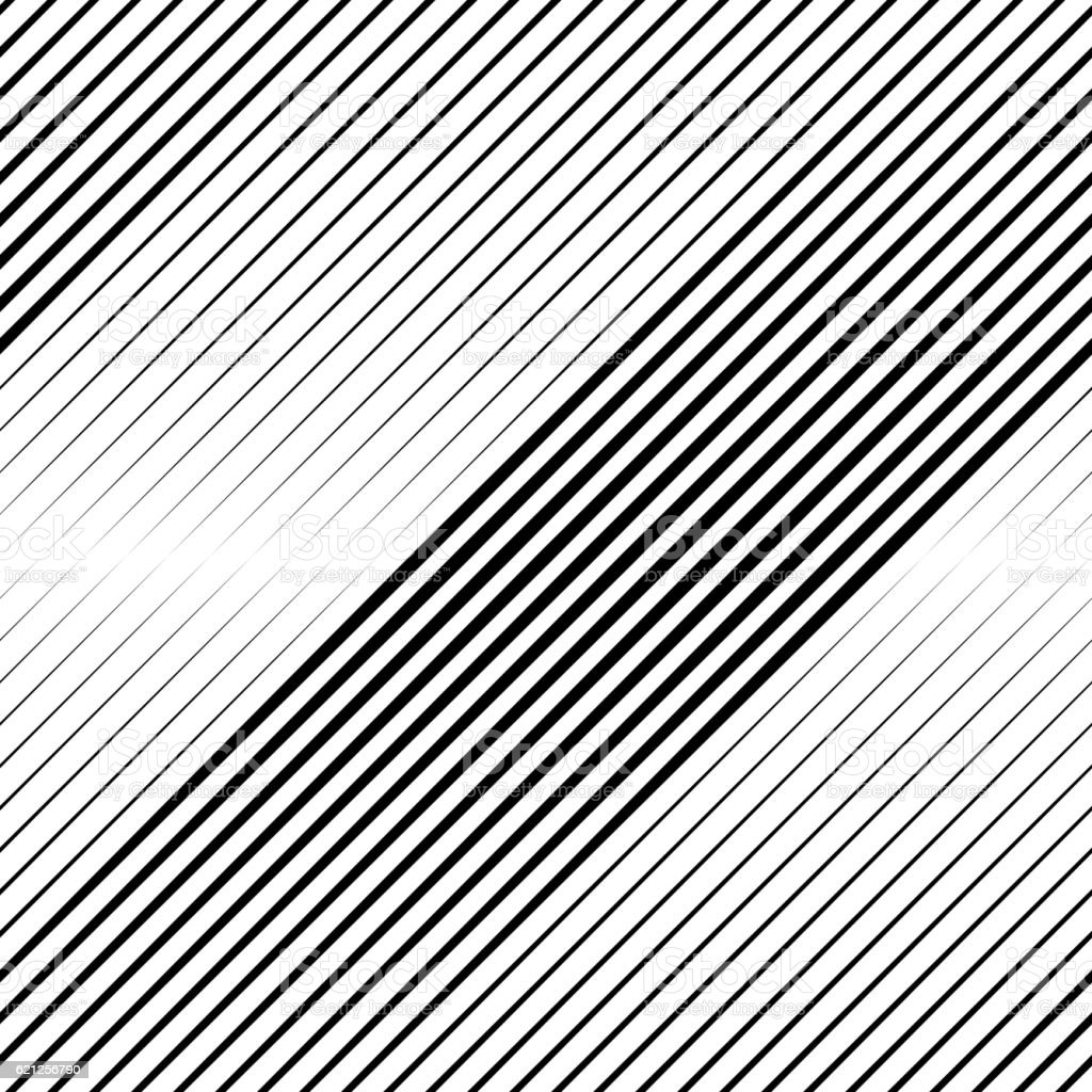 Vector Halftone Line Transition Wallpaper Pattern vector art illustration