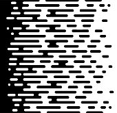 Vector Halftone Transition Abstract Wallpaper Pattern. Seamless Black And White Irregular Rounded Lines Background for modern flat web site design. Vector illustration EPS 10.