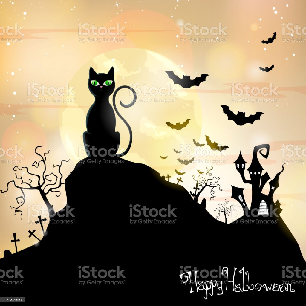 Vector halloween background royalty-free vector halloween background stock vector art & more images of bat - animal