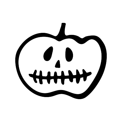 Free Clipart Pumpkin Black And White, Download Free Clip Art, Free Clip Art  on Clipart Library