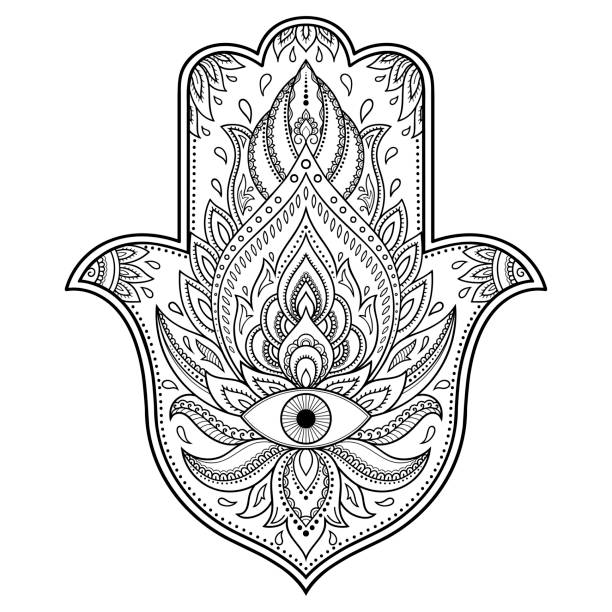 Royalty Free Evil Eye Tattoo Clip Art Vector Images Illustrations