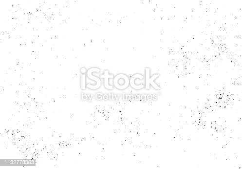 Vector hand crafted texture. Abstract background, scattered black pepper. Overlay illustration over any design to create grungy effect and depth. For posters, banners, retro designs.