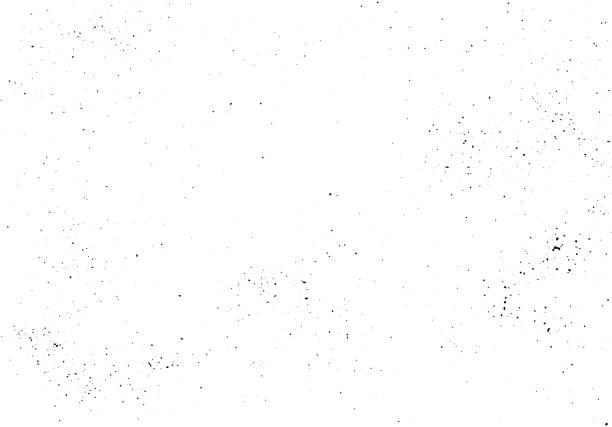 벡터 손으로 만든 질감입니다. 추상적인 배경, 흩어진 검은 후추 - 흩뿌려진 stock illustrations