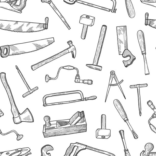 Hammer And Chisel Illustrations, Royalty-Free Vector ...