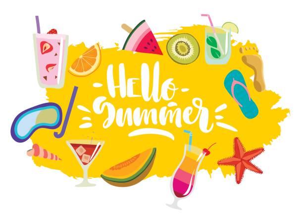 Best Hello Summer Illustrations, Royalty-Free Vector ...
