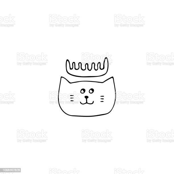 Vector hand drawn icon head of a cat label element for pets related vector id1068352828?b=1&k=6&m=1068352828&s=612x612&h=pq9ubxckoaqsobf jleklwk39yu6bgv9jboqn l3xmy=