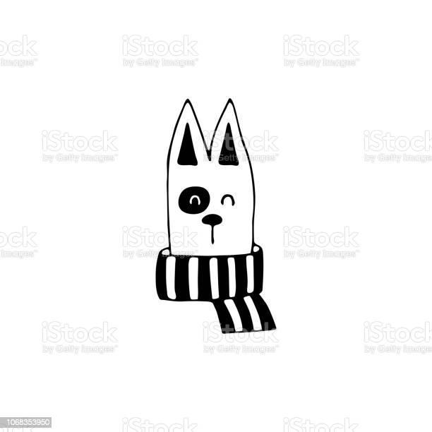 Vector hand drawn icon head of a happy dog logo element for pets vector id1068353950?b=1&k=6&m=1068353950&s=612x612&h=15kra0xxldkff2mm zmakmf1guexyd6wl0n3yfko6bc=