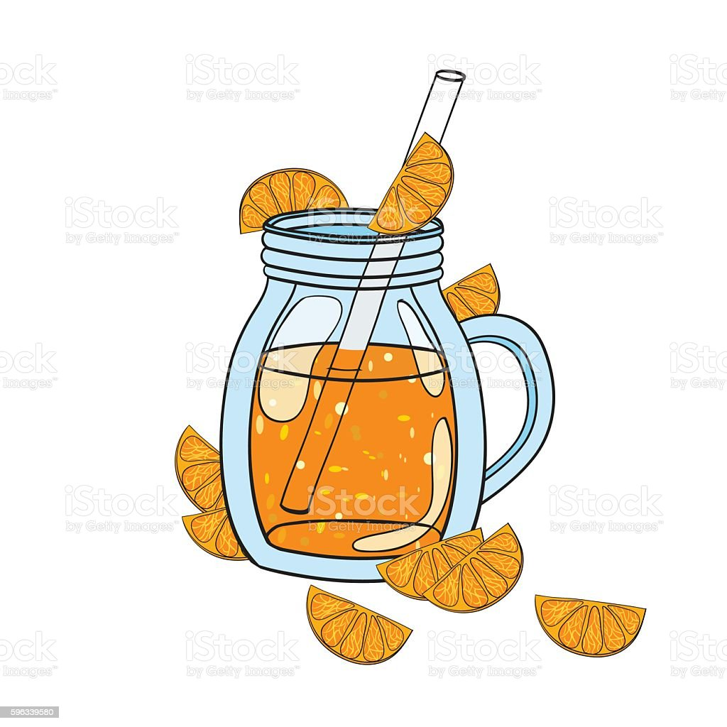 Vector hand drawn illustration of smoothie in a glass royalty-free vector hand drawn illustration of smoothie in a glass stock vector art & more images of blender