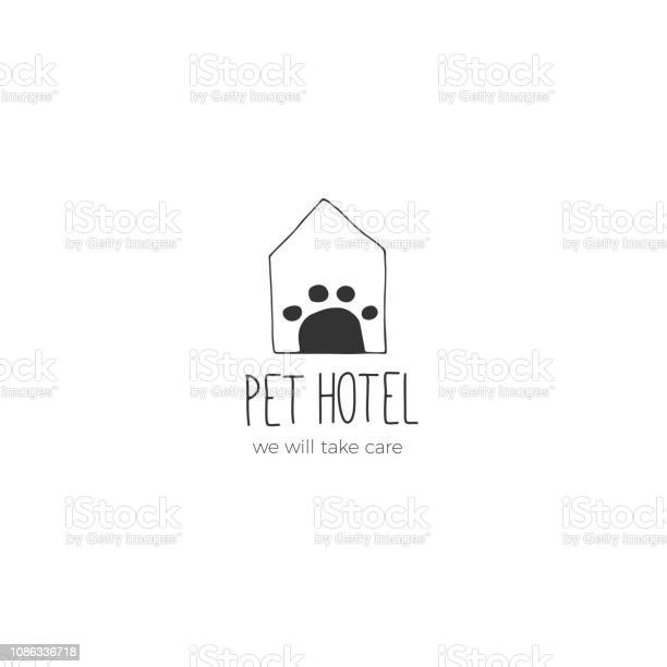 Vector hand drawn label template for pets related business vector id1086336718?b=1&k=6&m=1086336718&s=612x612&h=qw8c5ujy15qwpgxvbejnowmefrx 9 mklzm 3dxum80=