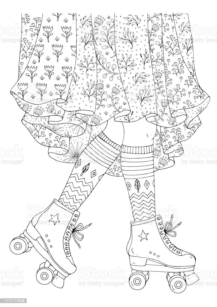 Free Vintage Coloring Book Pages, Download Free Clip Art, Free ... | 1024x724