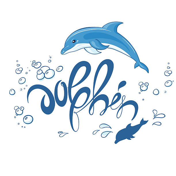 Best Dolphins Jumping Out Of Water Illustrations, Royalty ...
