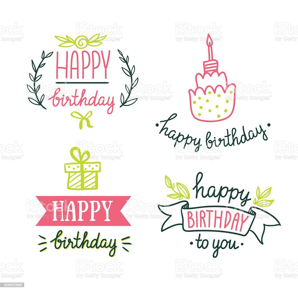 Cake Happy Birthday Banner