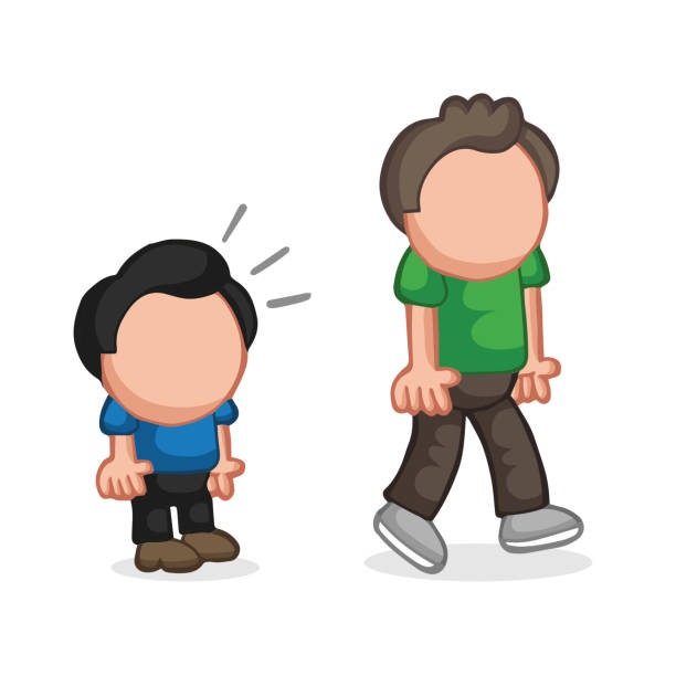 Royalty Free Tall And Short People Clip Art, Vector Images ...