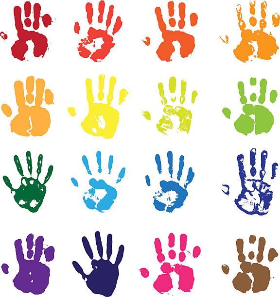 Wektor ręce – artystyczna grafika wektorowa