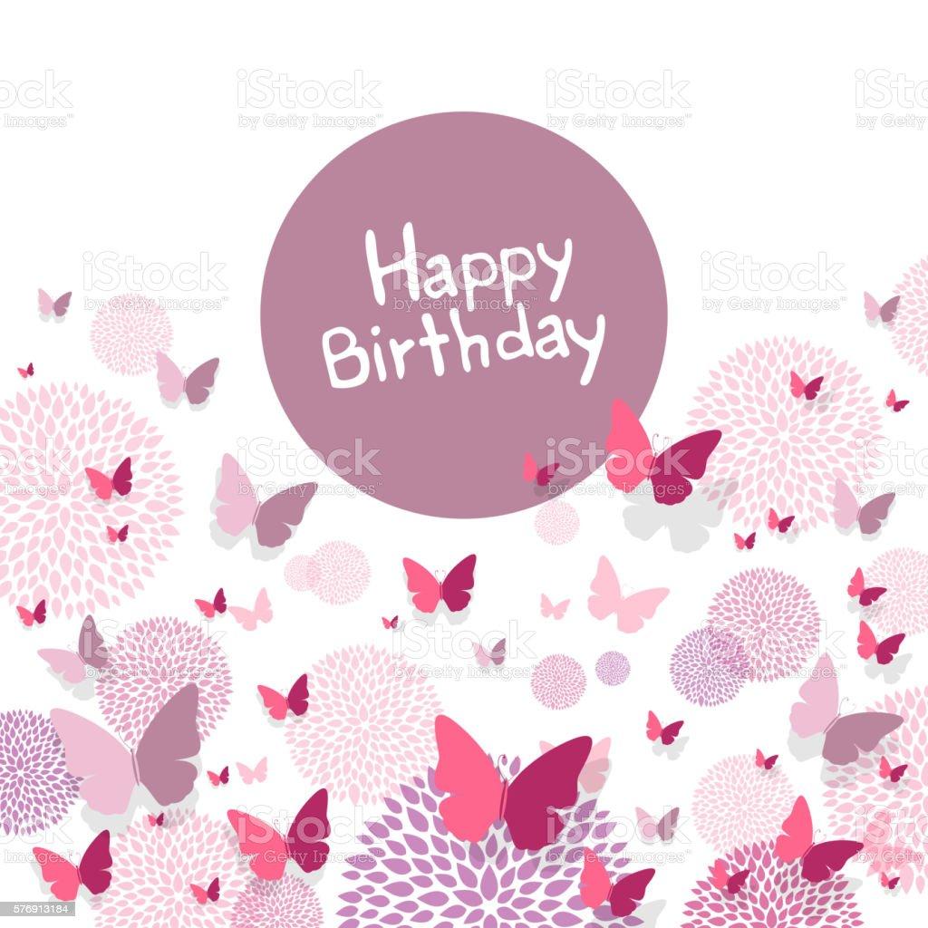 картинки векторные с днем рождения