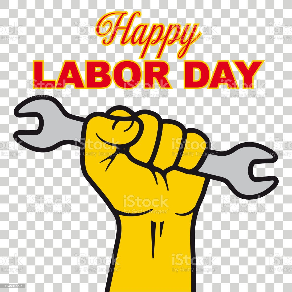 Vector Happy Labor Day Stock Vector Art More Images Of 2019 Istock