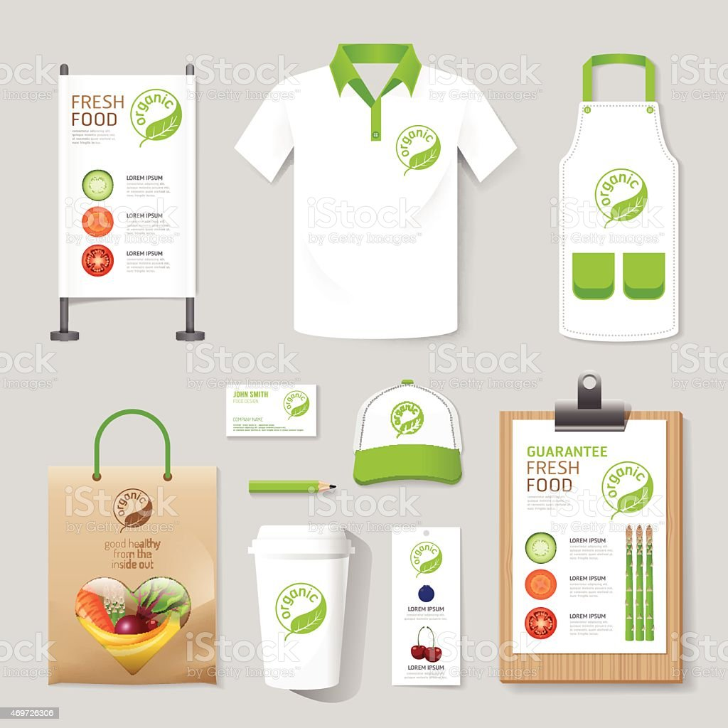 Vector health, beauty shop set flyer, menu, package, t-shirt vector art illustration
