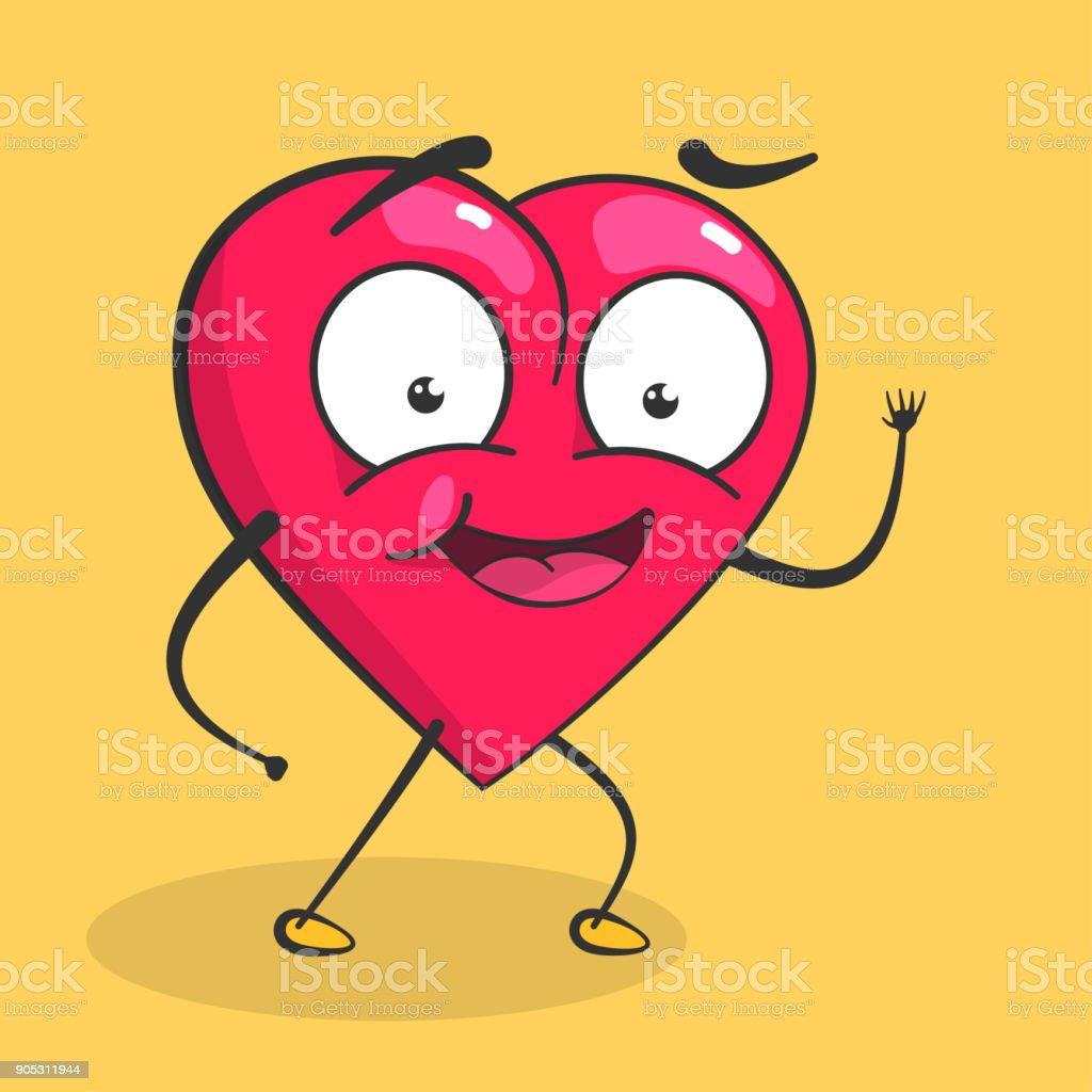 Vektor-Herzen zum Valentinstag – Vektorgrafik