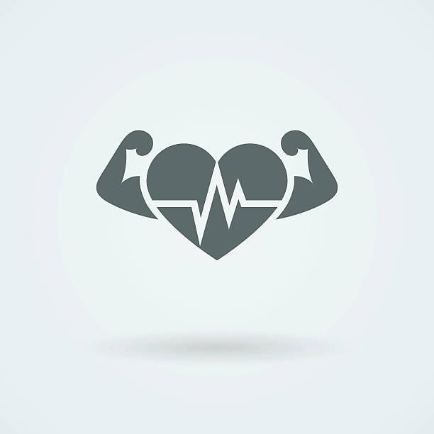 Royalty Free Clip Art Of Symbol For Heart Disease Clip Art Vector