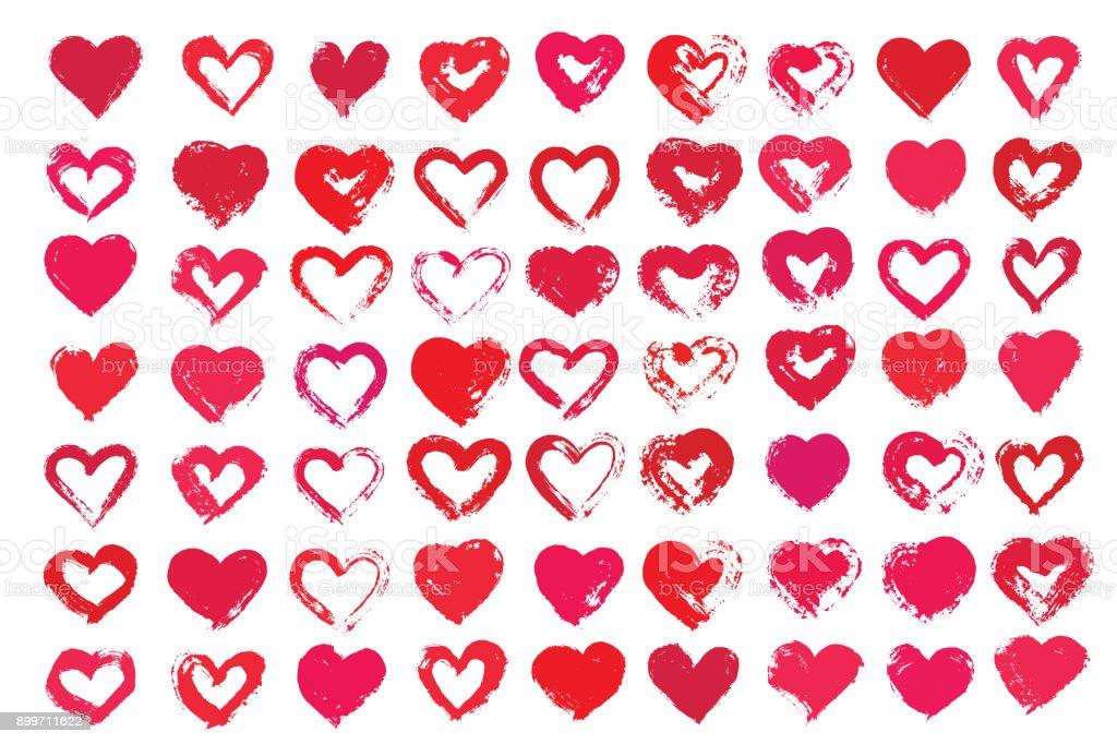 Vektor Kalp Sekilleri Stok Vektor Sanati Ask Bulma Sitesi Nin