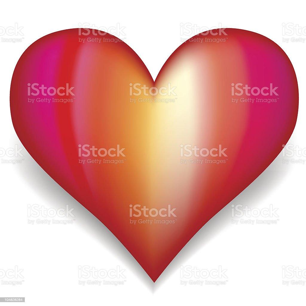 Vector Heart vector art illustration
