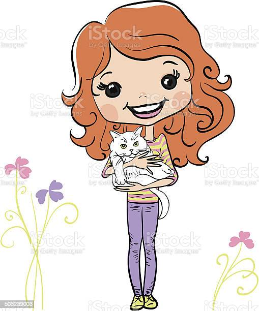 Vector hipster fashion cute girl with kitten vector id503239003?b=1&k=6&m=503239003&s=612x612&h=pwksao9wsvrzssrargqlylauqxkyuqvnnehed3onvps=