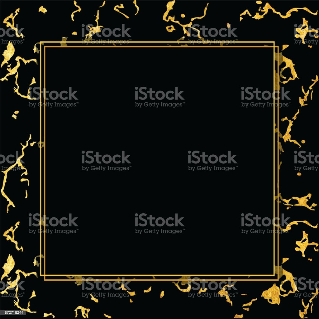 Vector holiday background marble gold and black texture trendy marble gold and black texture trendy template royalty free vector jeuxipadfo Image collections