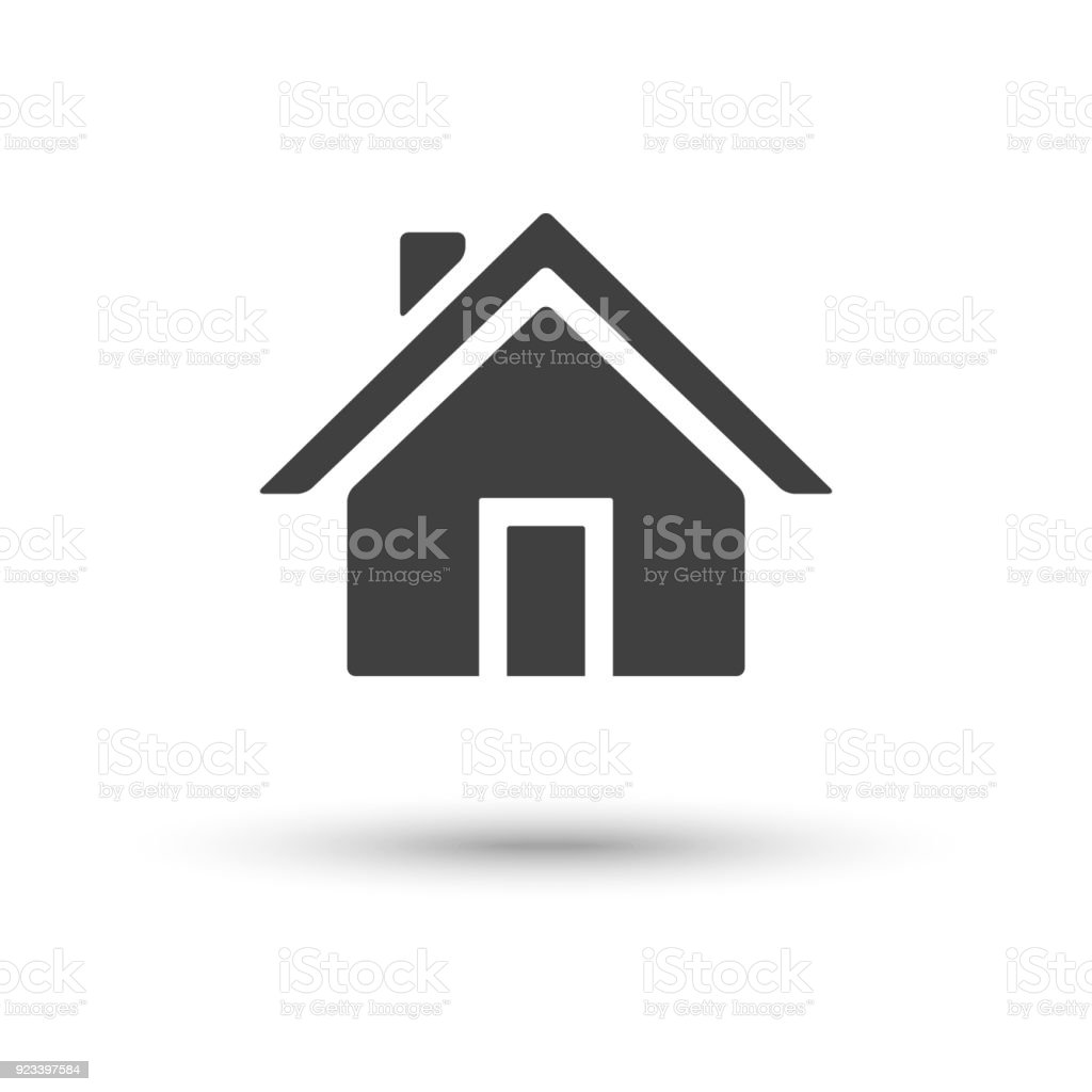 5b2e54d0a15c Russia, Art, Black Color, Built Structure, Business. Vector home house icon  isolated on white background royalty-free ...