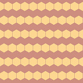 Vector HoneyComb Stripes on Pastel Copper seamless pattern background. Perfect for fabric, scrapbooking and wallpaper projects.