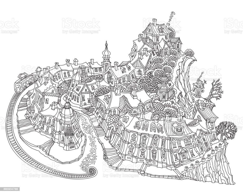 small fantasy town