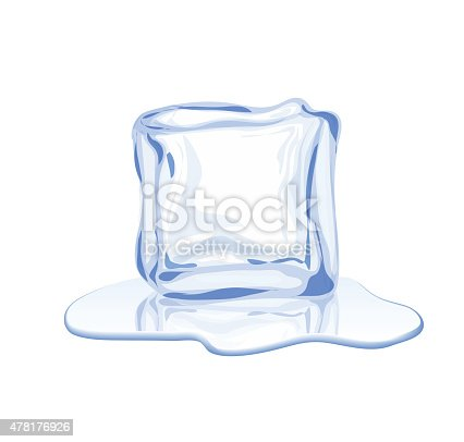 istock Vector ice block 478176926