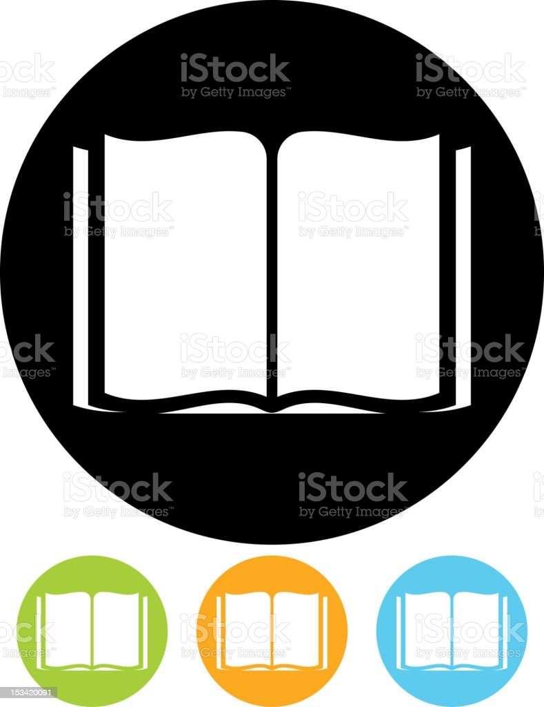 Vector icon – Book royalty-free vector icon book stock vector art & more images of blank