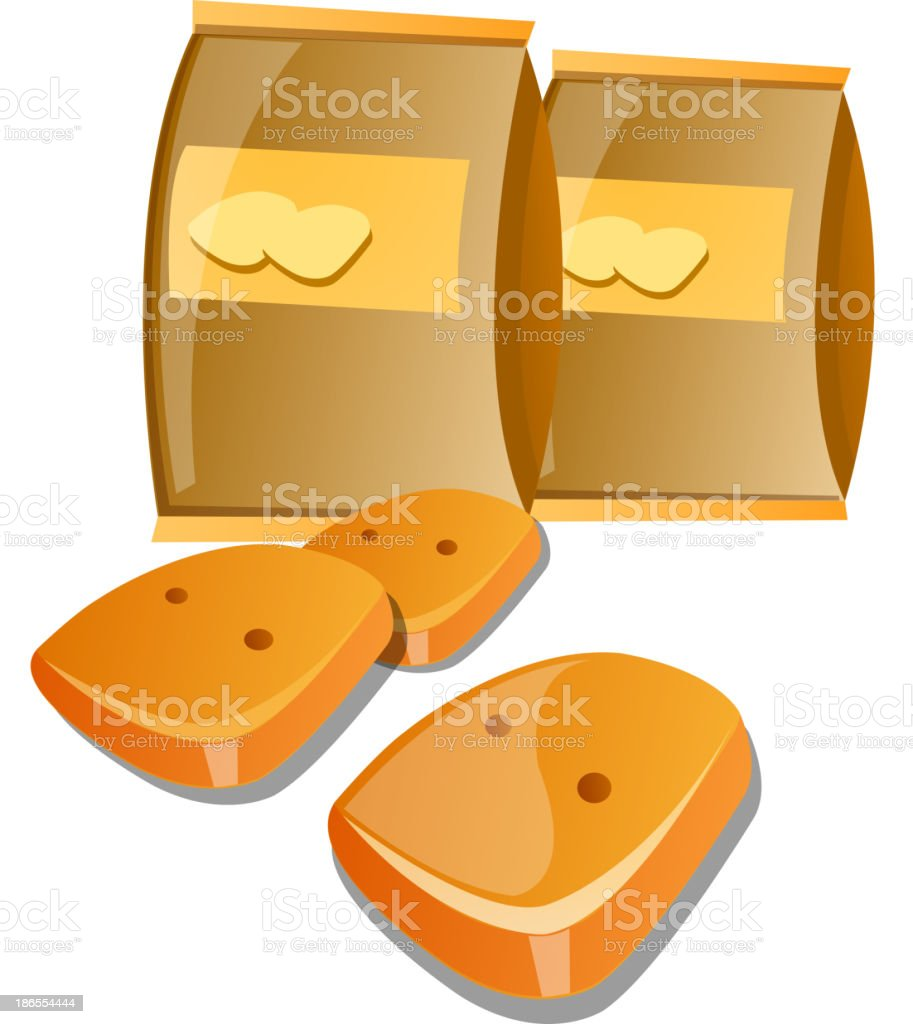 vector icon cookie royalty-free stock vector art