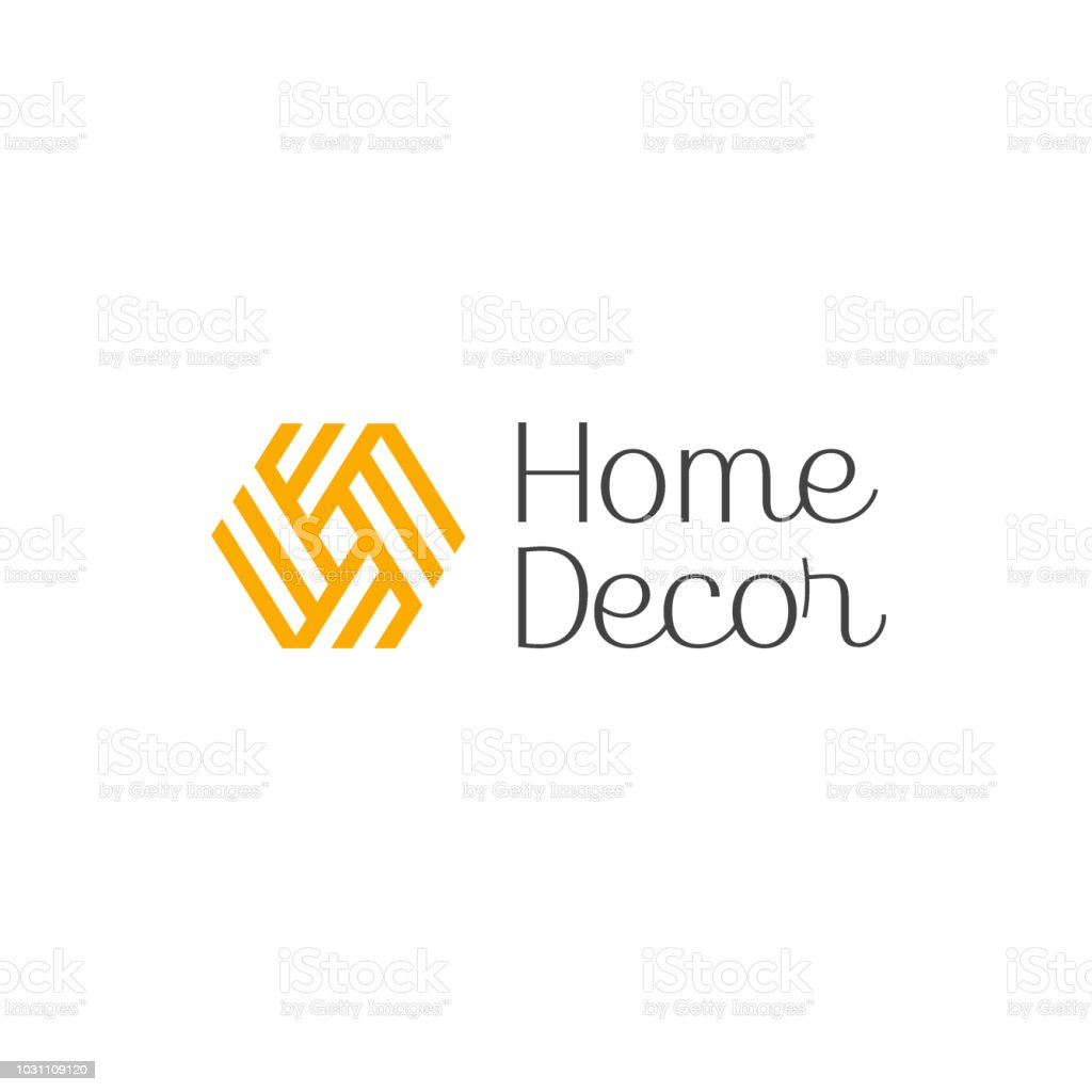 Vector icon design for interior, furniture shops, decor items and home decoration. vector art illustration