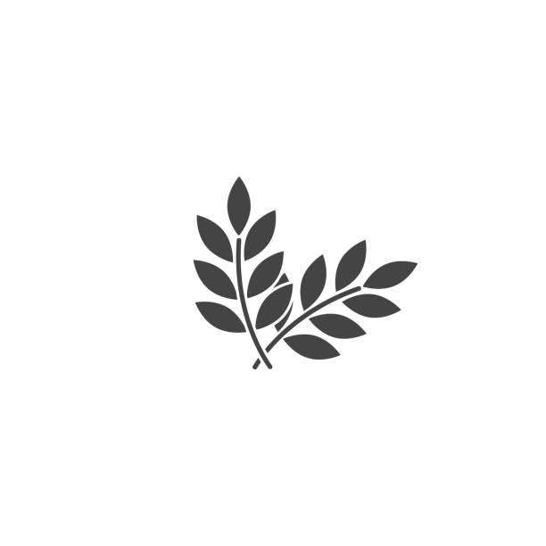 ilustraciones, imágenes clip art, dibujos animados e iconos de stock de icono vectorial orejas de trigo, cereal. oreja de avena. icono de orejas de rue sobre fondo blanco aislado. - fibra dietética