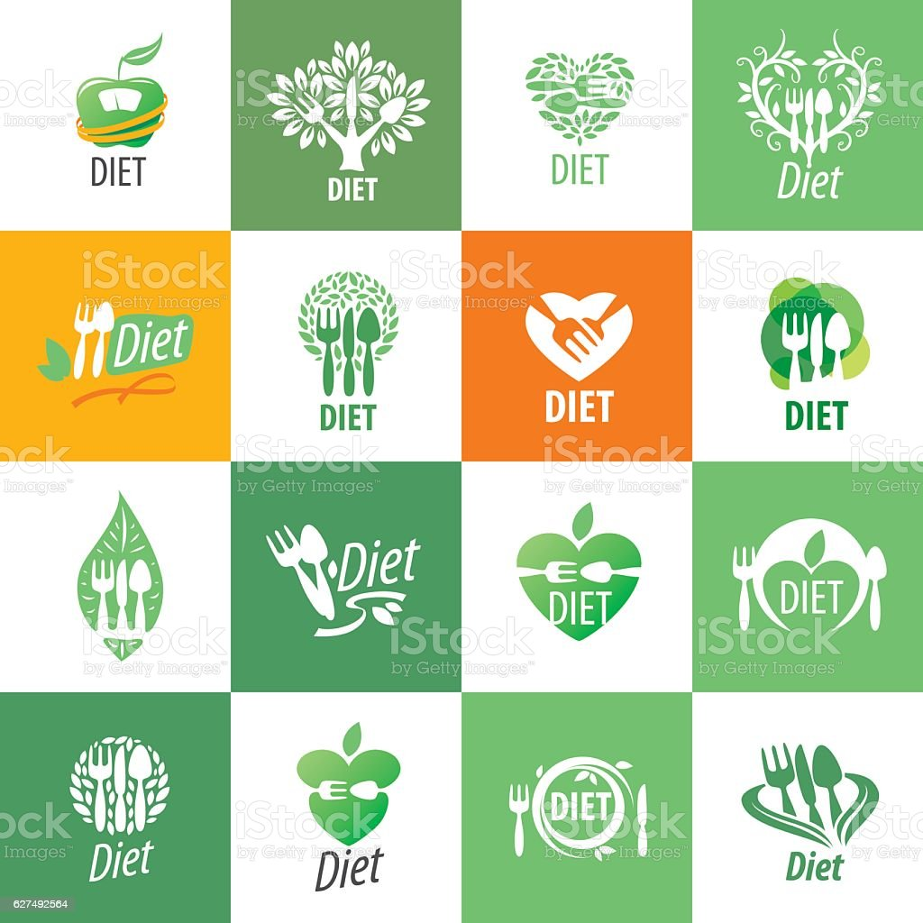 vector icon for diet - Illustration vectorielle