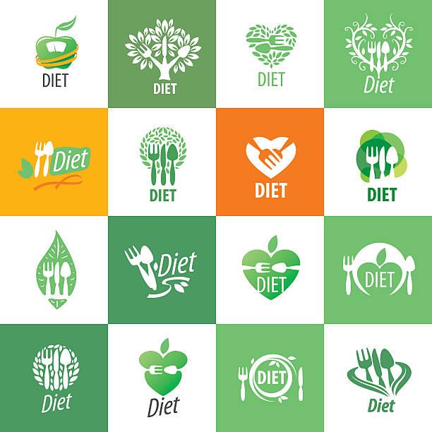 vector icon for diet - Illustration vectorielle