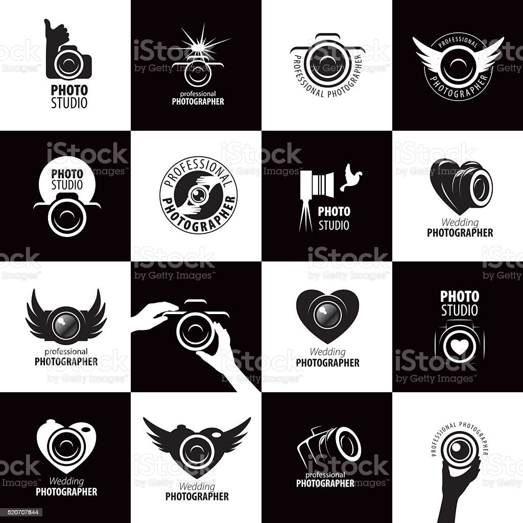 Vecteur d'icône pour photographe - Illustration vectorielle