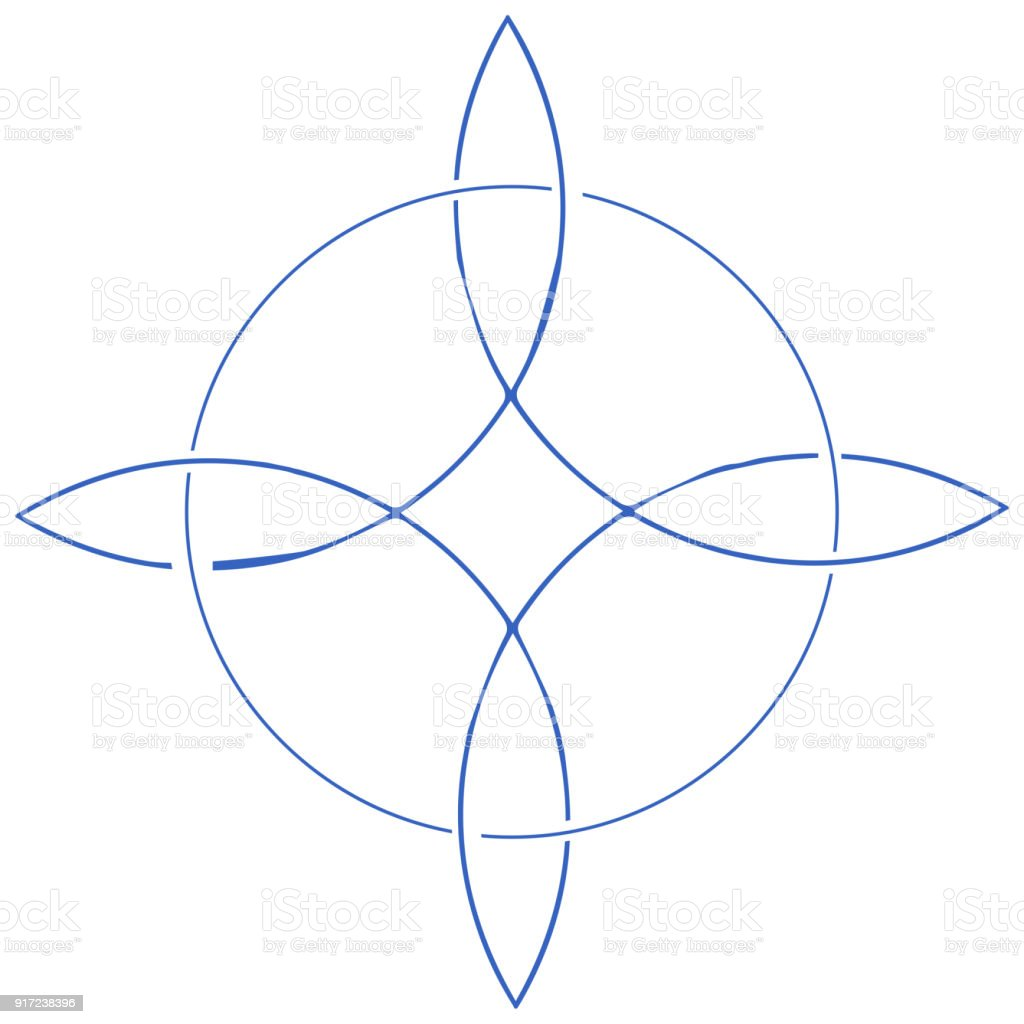 Vector Icon For Wiccan Community Witches Knot Also Known As Magic