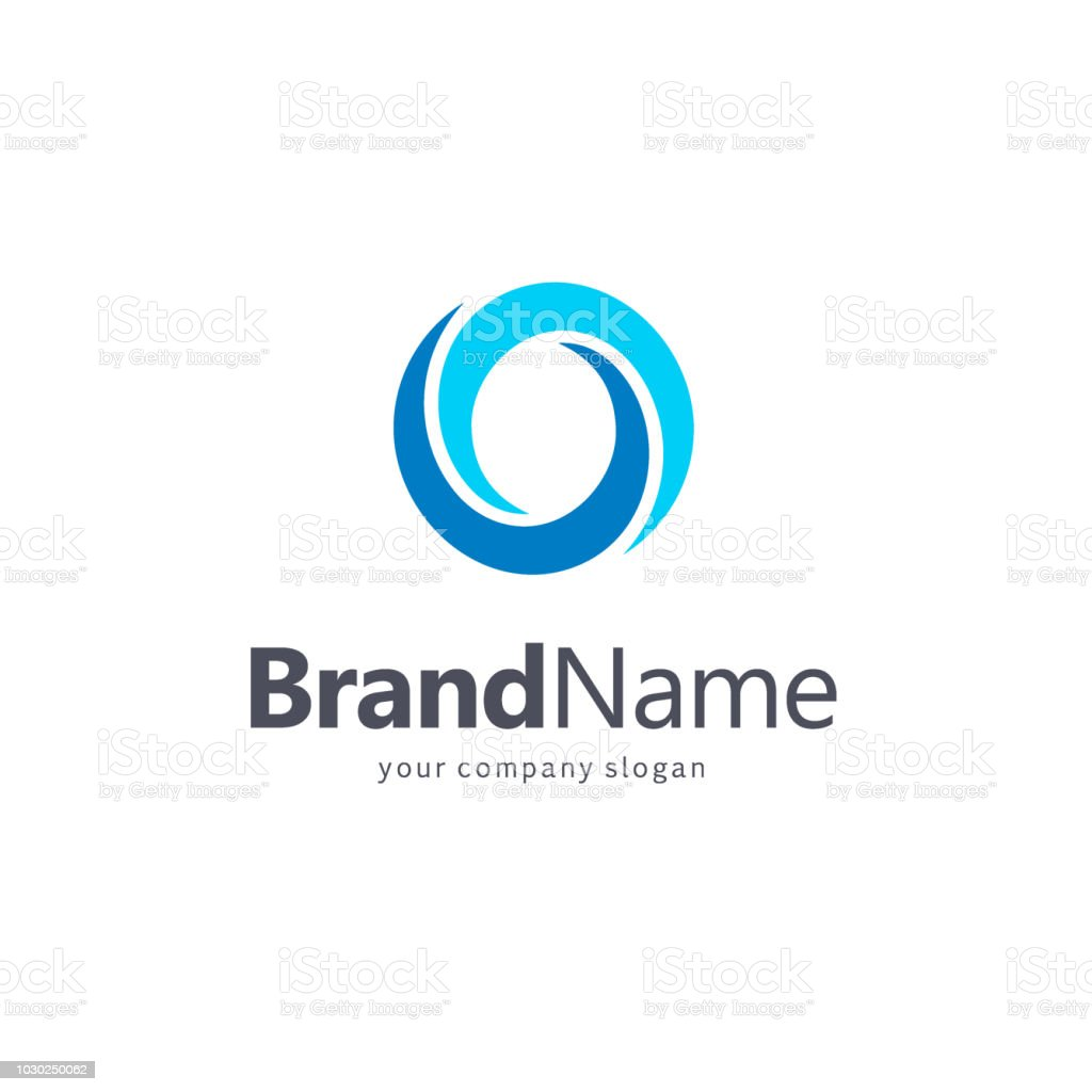 Vector icon for your business. Association, Alliance, Unity. Letter O. vector art illustration