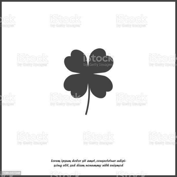 Vector icon fourleafed clover icon on white isolated background for vector id1084332346?b=1&k=6&m=1084332346&s=612x612&h=53abfrrb uxvxcm2cz 54kg9wfwiqcbr4d7tl ejdqy=