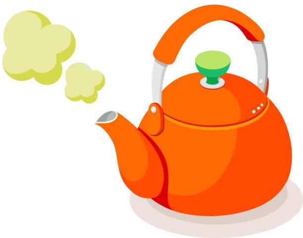 Royalty Free Tea Kettle Clip Art, Vector Images ...