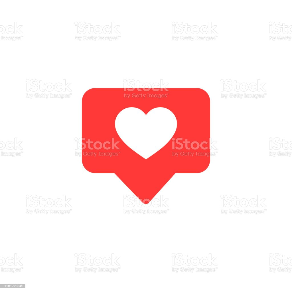 Vector icon like.Thumbs up  with heart shape. Social media red icon on isolated background. vector eps10 - arte vettoriale royalty-free di Accordo d'intesa