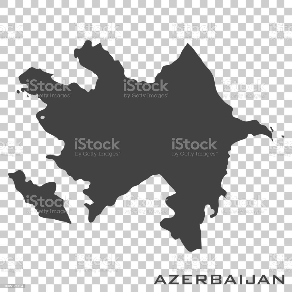 Vector icon map of azerbaijan on transparent background stock vector vector icon map of azerbaijan on transparent background royalty free vector icon map of azerbaijan gumiabroncs Images