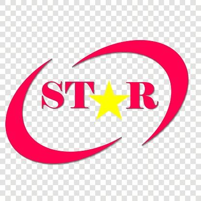 Vector Pictogram Van Een Ster Ster Inscriptie En Sterobject Logo Voor Uw Ontwerp Stockvectorkunst en meer beelden van Advertentie