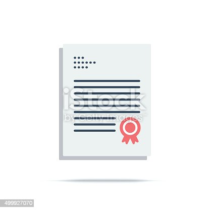 istock Vector Icon of Charter 499927070